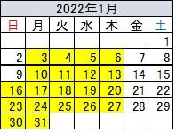 会津若松市民割1月